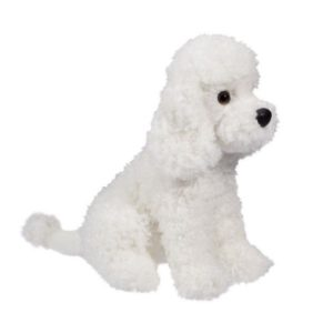 White Poodle Stuffed Animal