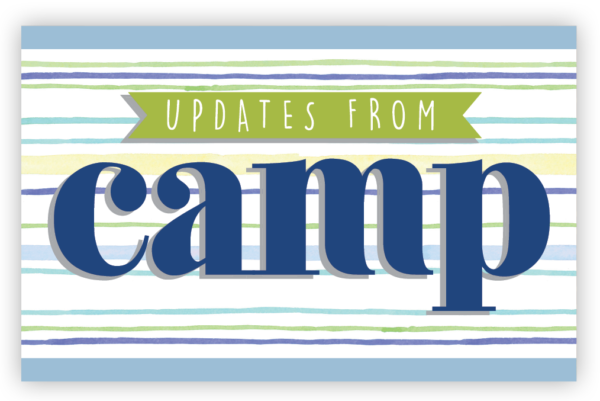 Updates from Camp Postcards