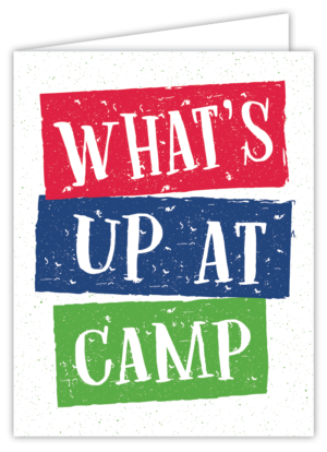 What's Up At Camp? NoteCard