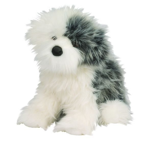English Sheep Dog Stuffed Animal