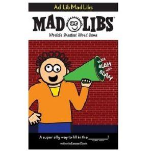 Mad Libs Ad Lib