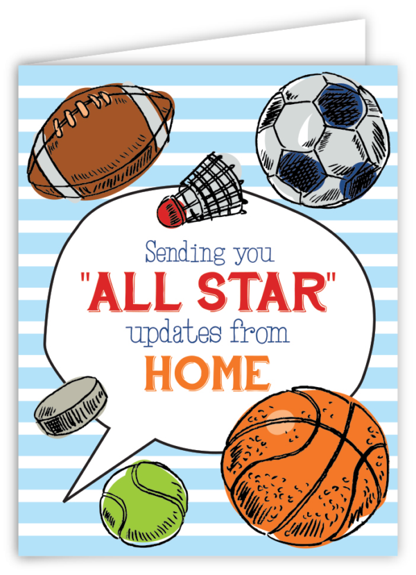 All Star Updates from Home