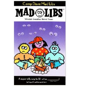 Mad Libs Camp Daze