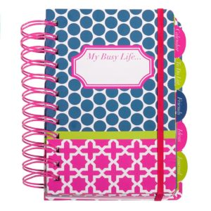 My Busy Life Polka-Dot Planner