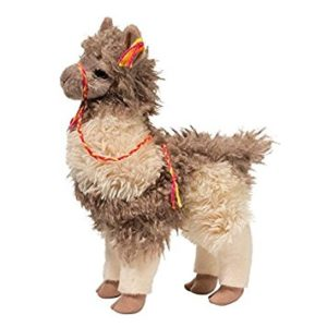 Taupe Zephyr Llama Stuffed Animal