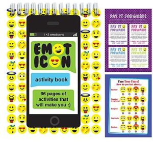 Emoticon Activity Book