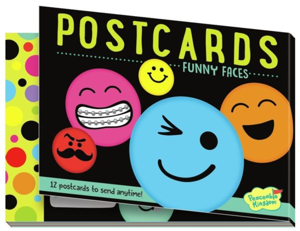 Funny Faces Postcards