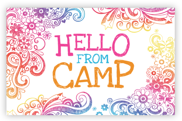 Hello From Camp – Floral