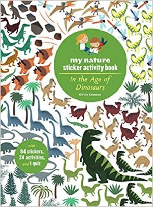 Sticker Activity Book - In the Age of Dinosaurs