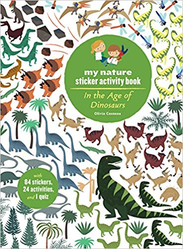 Sticker Activity Book – In the Age of Dinosaurs