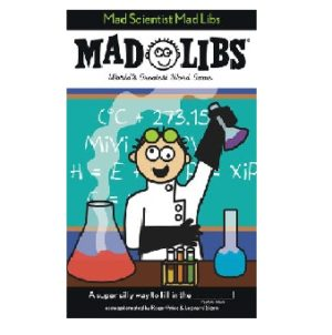 Mad Libs Mad Scientist