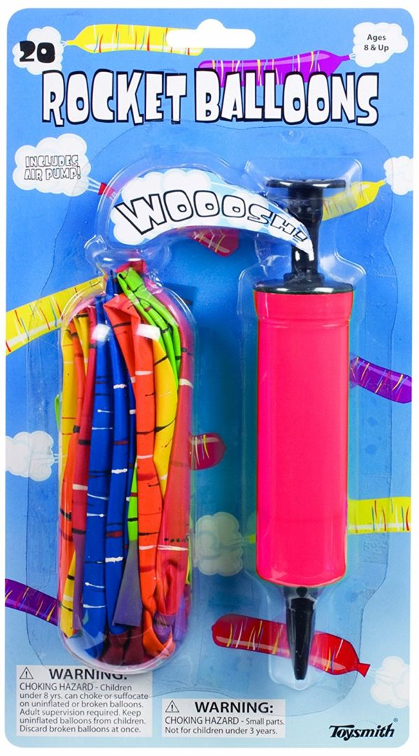 20 Piece Rocket Balloon Set