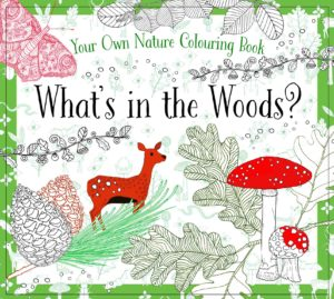 What's in the Woods? Nature Coloring Book