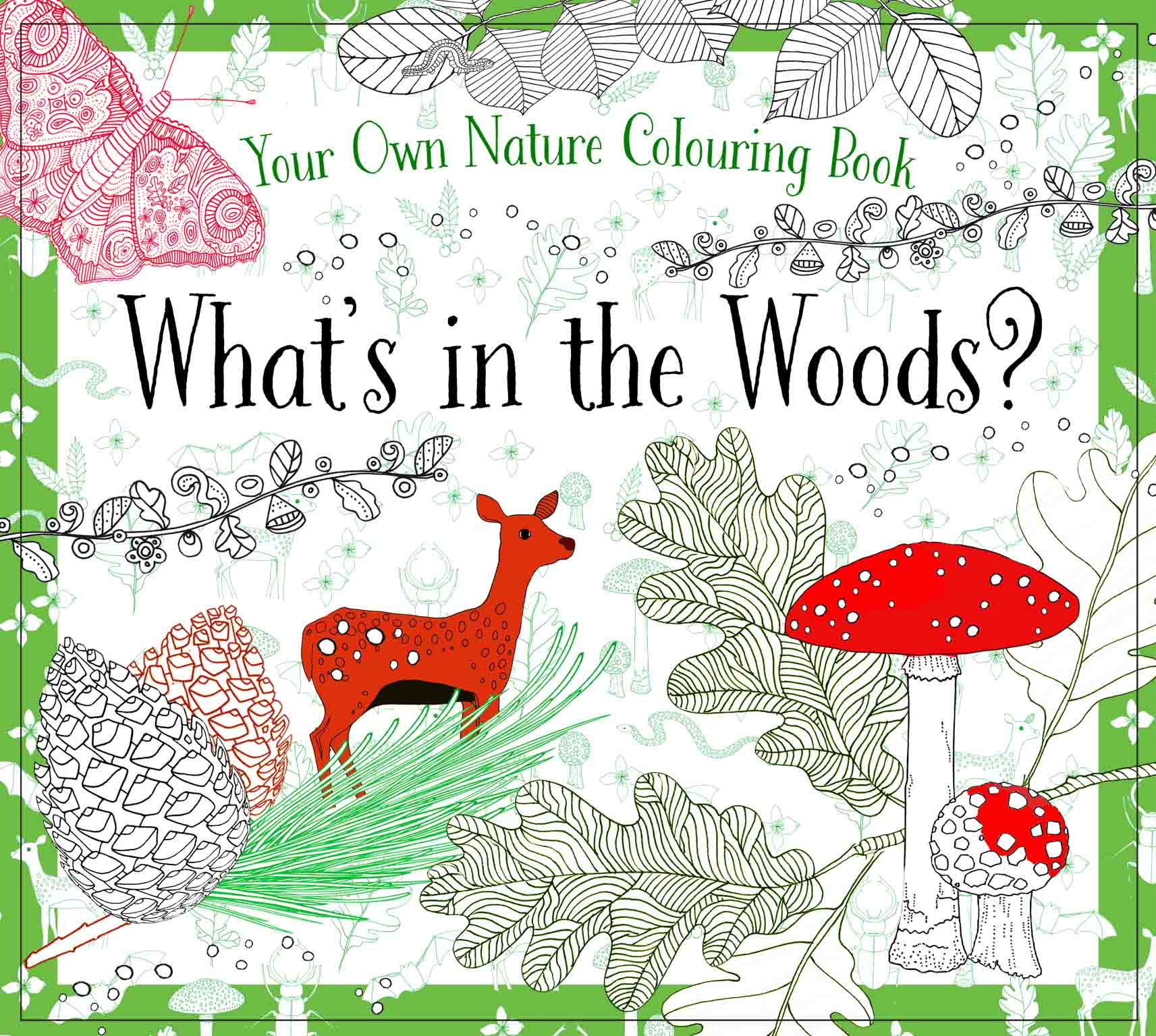 What\'s in the Woods? Nature Coloring Book