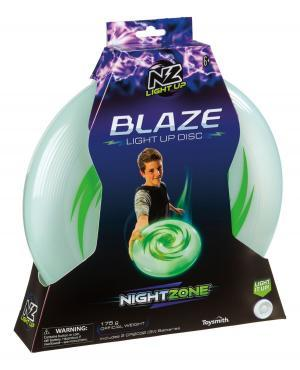 Nightzone Blaze light up disc frisbee