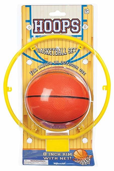 Hoops basketball set indoor game