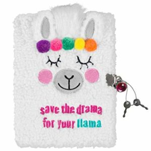 Llama Plush journal 3C4G