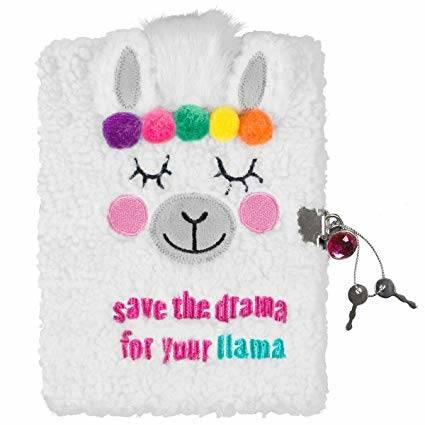 Llama Plush Journal