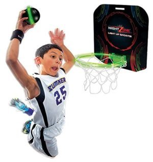 NightZone Light Up Hoops basketball