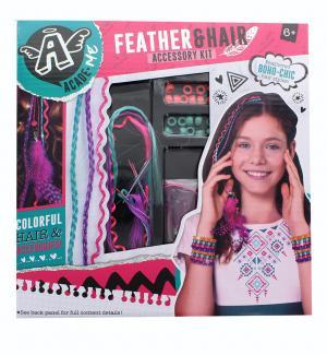 AcadeMe Feather and Hair Accessory Kit