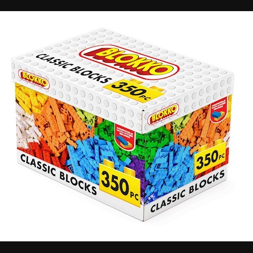 Blokko Classic Blocks 350 Pieces