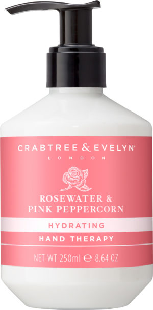 Rosewater and Pink Peppercorn Hand Therapy