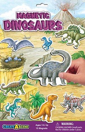 Create a Scene Magnetic Dinosaurs