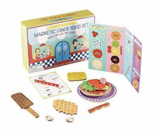 Magnetic Diner Food Set