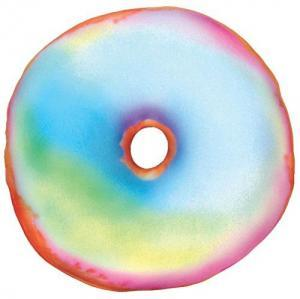 Tie Dye Donut Scented Pillow