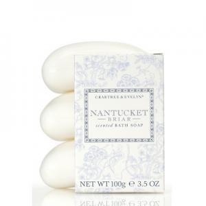 Nantucket Briar Bath Soap-Set of 3