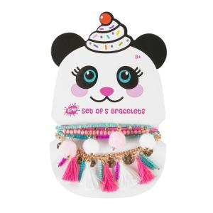 panda bracelet set