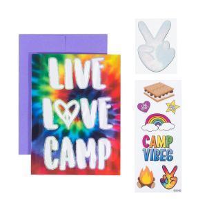 Live Love Camp Card
