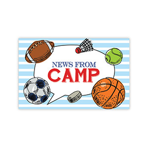 Sports News from Camp Postcards