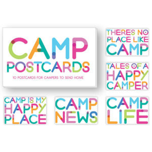 Rainbow Camp Postcards