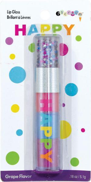 Happy Confetti Grape Flavored Lip Gloss