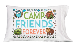 Camp Friend Forever Forest Pillowcase