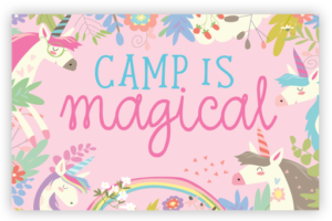 Camp is Magical Postcard