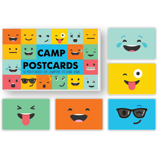 Funny Face Postcards
