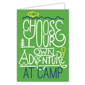 Choose Your Own Adventure at Camp Card