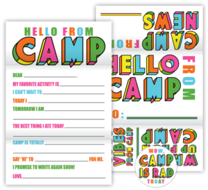 Color Block Camp Fold N' Seals