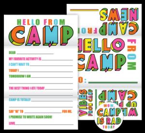 Color Block Camp Fold N' Seals
