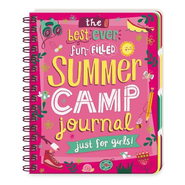 The Best Ever, Fun-Filled Summer Camp Journal for Girls