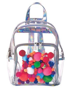 3C4G pom pom backpack for kids