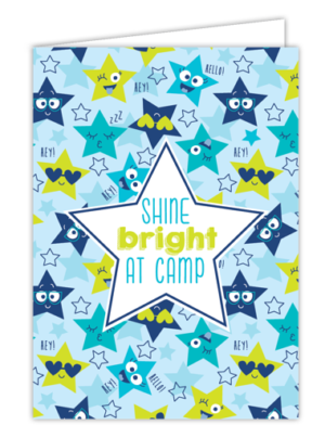 Shine Bright at Camp Card