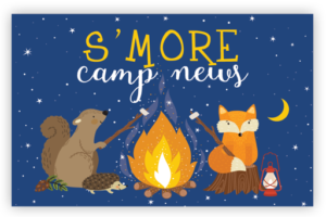 S'more Camp News Postcards