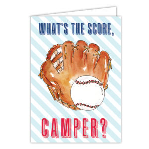 What's the Score, Camper? Card